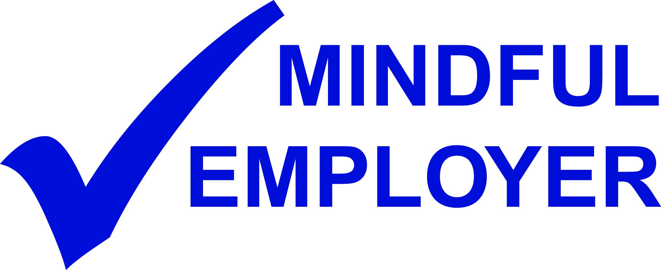 Mindful Employer logo blue jpeg