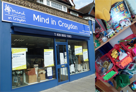 Mind in Croydon Charity Shop